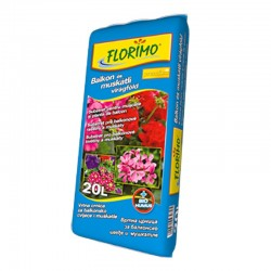 FLORIMO®Pământ pentru mușcate și plante de balcon (pH 6,6 +-0,5)