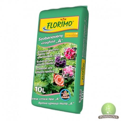 """FLORIMO® Szobanövény virágföld """"A"""" típusú (pH 6,2 +-0,5)"""