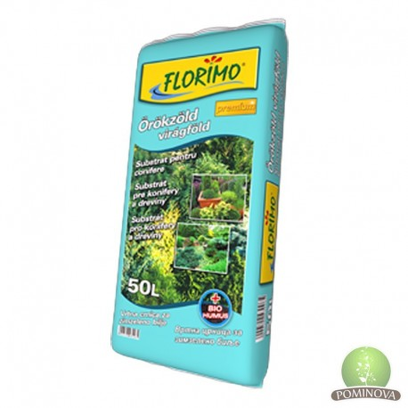FLORIMO® Örökzöld virágföld (pH 6,2 +-0,5)