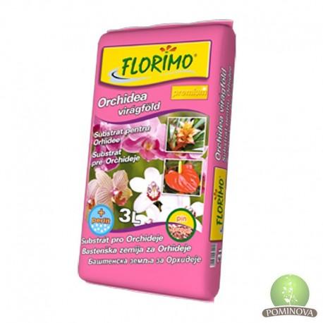 FLORIMO® Orchidea és Anthurrium Virágföld (pH 5 +-0,5)