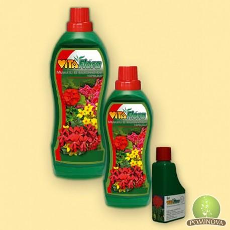 Vitaflora Soluţii nutritive pt muşcate şi plante de balcon