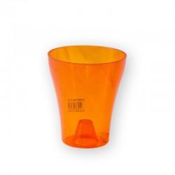 GHIVECI DECOR-ORHIDEE: portocaliu